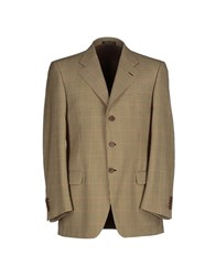 Massacri Suits And Jackets Blazers Men Beige