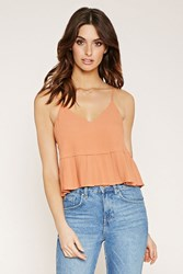 Forever 21 Contemporary Pleated Cami