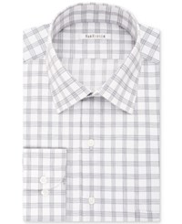 Van Heusen Men's Classic Regular Fit Wrinkle Free Grey Solid Dress Shirt