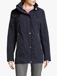 Betty Barclay Parka With Hood Deep Navy