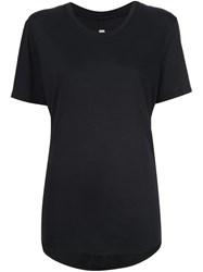 Raquel Allegra Basic T Shirt Black