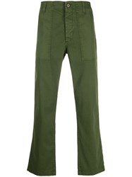 Ag Jeans Turner Fatigue Trousers Green