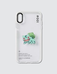 Casetify Bulbasaur 001 Pokedex Day Iphone Xs Max Case Clear
