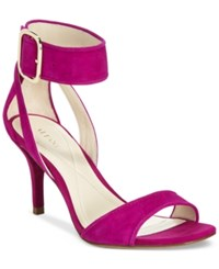Alfani Women's Casedy Ankle Strap Pumps Only At Macy's Women's Shoes Fucshia