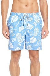 Tommy Bahama Men's Big And Tall 'Naples Pina' Floral Swim Trunks Campanula
