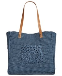 Styleandco. Style Co. Crotchet Tote Only At Macy's Navy