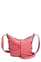Marc Jacobs The Mini Sling Convertible Leather Hobo Watermelon