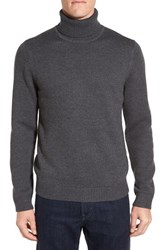 John W. Nordstromr Men's Nordstrom Chunky Knit Wool Turtleneck Sweater