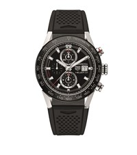 Tag Heuer Carrera Calibre 01 Chronograph Watch Unisex Black
