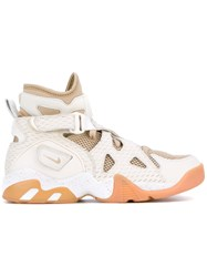 Nike Air Unlimited Sneakers Women Cotton Leather Nylon Rubber 9.5 White