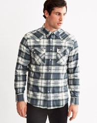 Lee Rider Shirt In Brushed Twill Check