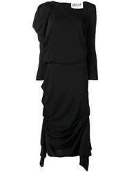 Awake A.W.A.K.E. Overlayered Dress Black