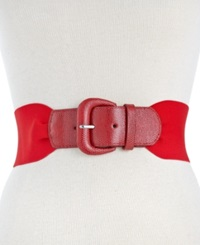 Style And Co. Gathered Stretch Belt