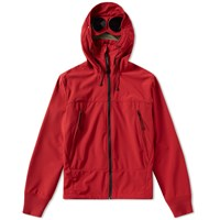C.P. Company Softshell Goggle Jacket Red