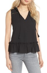 Cooper And Ella Women's Yasmin Ruffle Tank