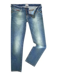 Tommy Hilfiger Sidney Medium Wash Low Rise Jeans Blue