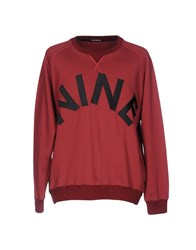 Nineminutes Sweatshirts Brick Red