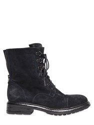 Fru.It 20Mm Studded Suede Lace Up Boots