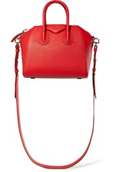 Givenchy Antigona Mini Textured Leather Shoulder Bag One Size