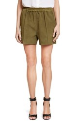 Women's Givenchy Suede Shorts