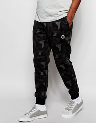 Creative Recreation Camo Joggers Black