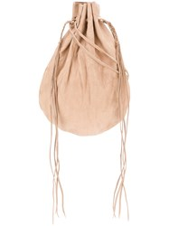 Caravana Bolin Shoulder Bag Calf Leather Nude Neutrals
