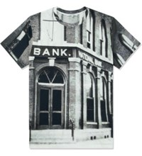 Carven Black White Bank Jersey T Shirt