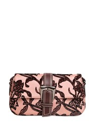 Rochas Large Buckle Fil Coupe Shoulder Bag