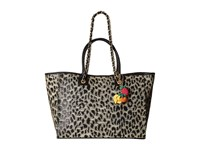 Betsey Johnson The Mighty Jungle Large Tote Leopard Tote Handbags Animal Print