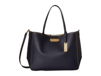 Zac Posen Eartha Iconic Signature Shopper Navy Handbags