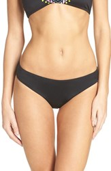Laundry By Shelli Segal Women's Bikini Bottoms Black