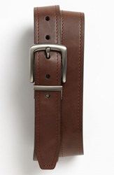 Men's Fossil 'Parker' Reversible Leather Belt