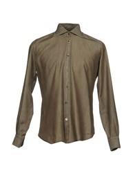 Mazzarelli Shirts Grey