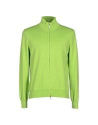 Henry Cotton's Knitwear Cardigans Men Light Green