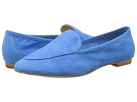 Enzo Angiolini Elerflower Blue Suede Women's Slip On Shoes