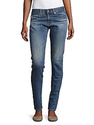 Ag Adriano Goldschmied Skinny Fit Ankle Length Jeans Fifty Salt