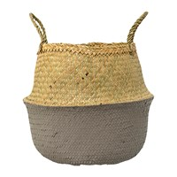 Bloomingville Grey Seagrass Basket