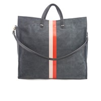 Clare V. Women's Simple Tote Bag Slate Suede