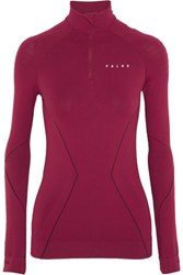 Falke Ergonomic Sport System Stretch Jersey Top Plum