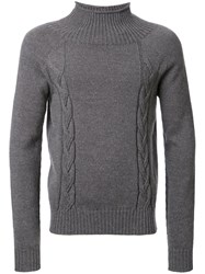 Maison Martin Margiela Mock Turtleneck Jumper Grey