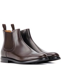 Church's Monmouth Leather Ankle Boots Brown