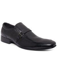 Unlisted A Kenneth Cole Production In Vert Loafers Men's Shoes Black