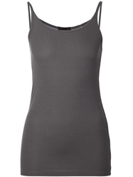 Atm Ribbed Cami Grey