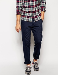 Esprit Straight Fit Trousers Darkwashed