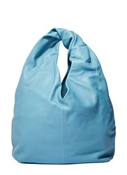 J.W.Anderson Twisted Leather Hobo Bag Blue