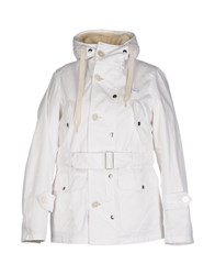 Equipe 70 Equipe' Coats And Jackets Jackets White