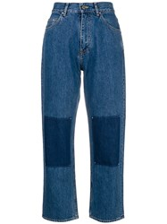 Golden Goose Deluxe Brand Mid Rise Jeans Blue