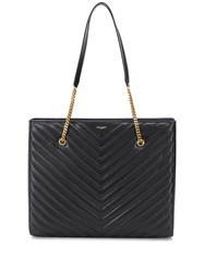 Saint Laurent Tribeca Shopping Bag Black