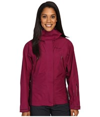 Marmot Spire Jacket Magenta Dark Purple Women's Coat