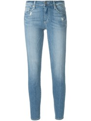 Paige 'Skyline Ankle Peg Whitley' Jeans Blue